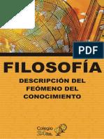 FILOSOFIA Del Conocimiento