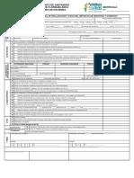 Formulario Único Nacional de Declaración y Pago Del Impuesto de Industria y Comercio