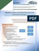 NASM-CPT6 Exam Study Guide