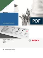 Masina de spalat vase incorporabila Bosch SB