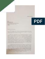 Carta de Diputados a Michelle Bachelet por Palestina
