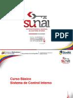 Presentación Del Sistema de Control Interno 18-01-2017