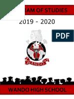 wando program of studies 2019-2020