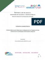 DGCE-SP-Criterios Basicos Para Determinar La Aplicacion de Los Tratados de Libre Comercio en La Contratacion Administrativa Nacional.(1)