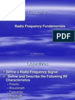 Lesson 2 Radio Frequency Fundamentals