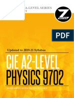 Complete a Level Physics Definitions