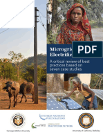 Microgrids for Rural Electrifcation