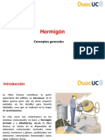 COG-1201 Clase Nº08 Hormigón