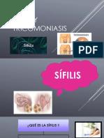 Sífilis y Tricomoniasis