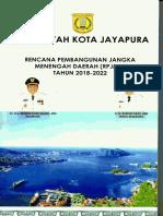 RPJMD Kota Jayapura 2018-2022