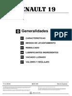 [RENAULT] Generalidades Renault 19