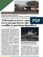 22-05-19 Monterrey amplía recarpeteo de calles principales