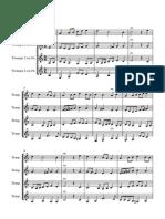 Coral Trompas 2 - Partitura y Partes