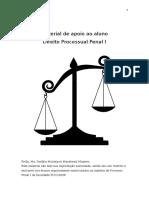 Apostila de Processo Penal I