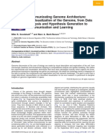 Communicating Genome Architecture