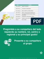 Pactos regionales