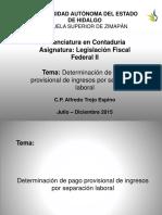 Legislacion Fiscal Federal II