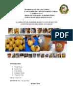 Informe2 Práctica Jalea Maracuya