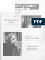 04 Boletin Filosofia y Letras Marzo Abril 1995 Num 4