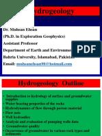 1 BS Hydrogeology