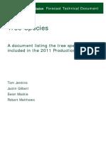 FC PF2011 Tree Species