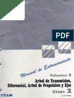 2-8 Arbol Transmision, Diferencial, Arbol de Propulsion y Ejes Vol. 8