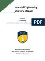 Environmental Engg Lab Manual