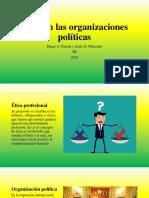 Ética en Las Organizaciones Políticas