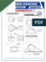 Propiedades de La Circunferencia Para Quinto de Secundaria