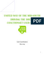 CoactionNet User Guide - Driving the Dream Care Coordinator