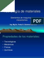 Tecnologia de Materiales