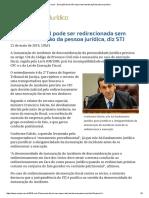 ConJur - Execução fiscal não requer desconsideração da pessoa jurídica.pdf