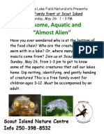 Aquatic Inverts Poster May 2019