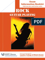 Rock Guitar Booklet