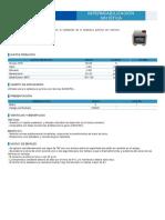 Ficha técnica Tetrahidrofurano