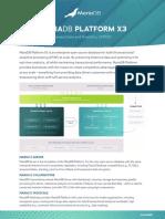 Mariadb Platform x3 Datasheet 1002