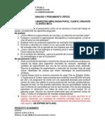 Analisis y Pensamiento Crítico 6 y 7
