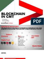 Blockchain in CMT - PoV