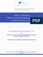 Class 12th Maths Chapter 2 (Inverse Trigonometric Functions) Unsolved.pdf