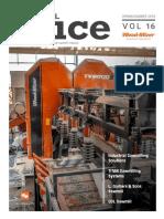 Revista Primavera de informacion de noticias  Wood-Mizer Industrial TITAN