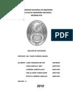 Informe 8 Analisis de Viscosidad