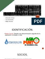 Sociedad Limitada- Alexander Arroyo