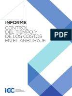 Icc Arbitration Commission Report on Techniques for Controlling Time and Costs in Arbitration Spanish Version