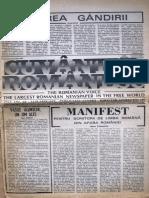 Cuvantul Romanesc anul 4, nr. 33, ianuarie 1979