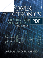 Power Electronics Circuits Devices and Applications by Muhammad H Rashid