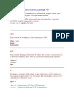 Comandos Basicos de Ftp