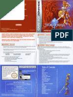 Sword of Mana - Manual - GBA