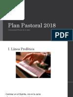 Plan Pastoral 2018