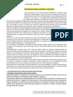 Derecho internacional privado 2019