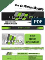 Estudio Analisis Hercon Mayo 2019